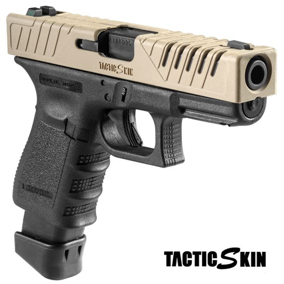 Israeli firearm accessory maker FAB Defense just debuted their new TacticSkin slide covers for the Glock 17 and 19 pistols...Find all about it at www.operator7airsoft.com