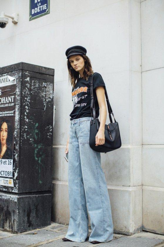 Flared bells | Bell bottom jeans | High-waisted denim | Girlfriend is Better