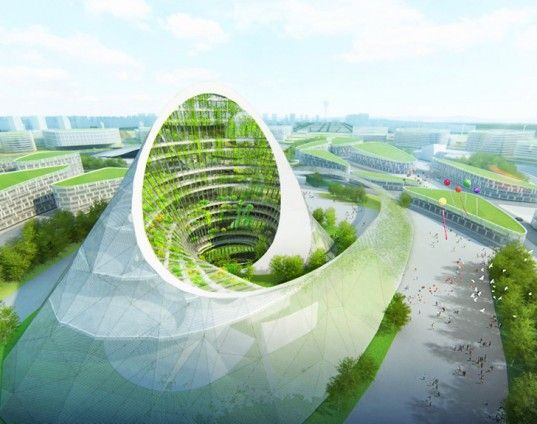 Famous Architects Unveil Amazing Energy-Generating Buildings for the 2017 Astana World Expo! | Inhabitat - Sustainable Design Innovation, Eco Architecture, Green Building