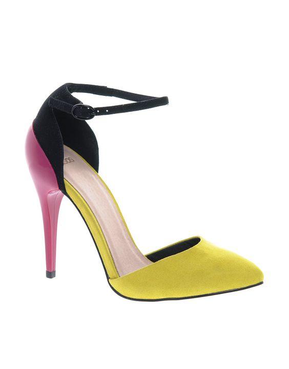 ASOS PRIORITY Pointed High Heels