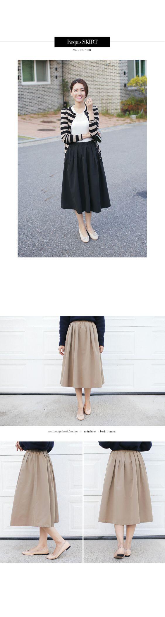 ナチュラルカラーミモレ丈スカート・全2色ワンピース・スカートスカート|大人のレディースファッション通販 HIHOLLIハイホリ [トレンドをプラスした素敵な大人スタイル]