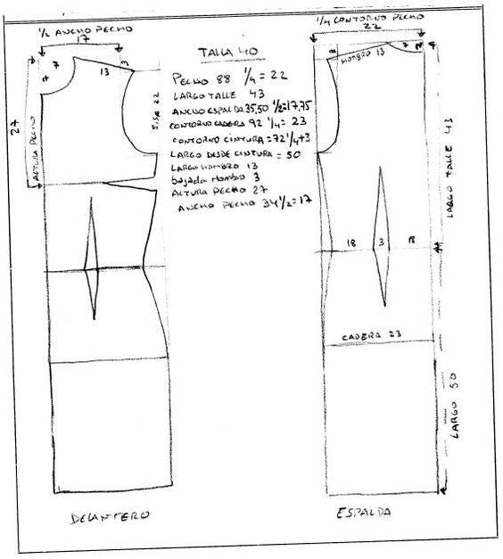 Curso GRATIS patrones base y adaptaciones | PATRONES DE ROPA ...
