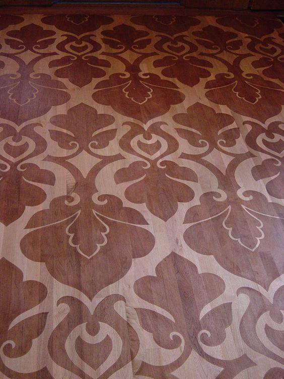 stenciled floor | Stenciled Floors | Stenciling | Portfolio | Ellen Ryan Decorative ...