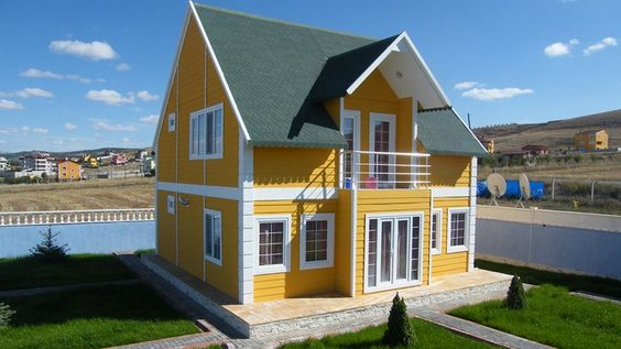 Prefabricated Homes With Prefabricated House Double Storey On Home Design