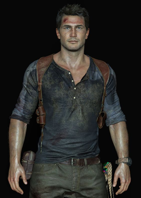 Nathan Drake from Uncharted 4: A Thief's End
