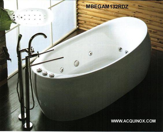 Jetted tubs round whirlpool massage jacuzzi bath tubs for Whirlpool einlage badewanne