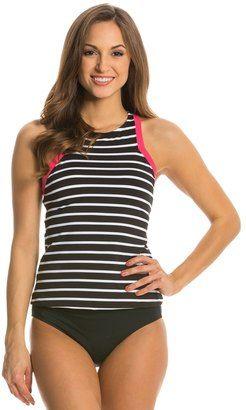 Jag Fisher Island Stripe Racerback Tankini Top 8138457 #bikini #twopiece #sale