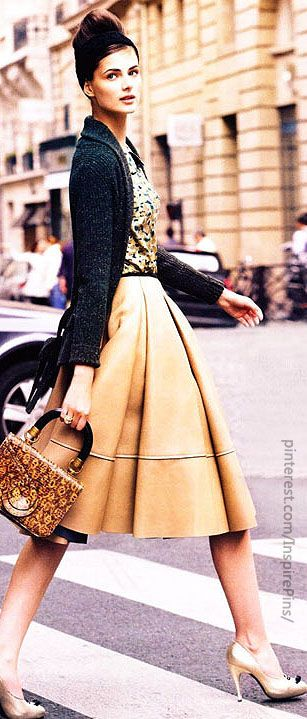 modern vintage outfit
