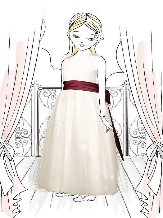 Flower Girl Dress FL4002 http://www.dessy.com/dresses/flowergirl/fl4002/#.VqbV6PkrKM8