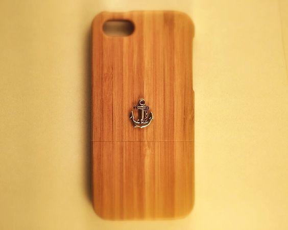 Schutzhülle iPhone 5 / 5S mit Anker von Galatian Cases auf DaWanda.com