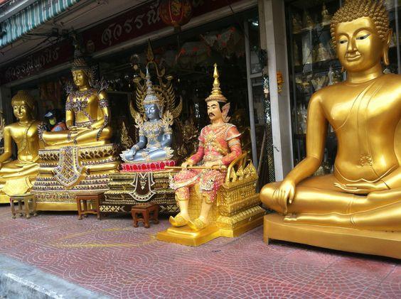 photo from a tuk tuk taxi, Bangkok
