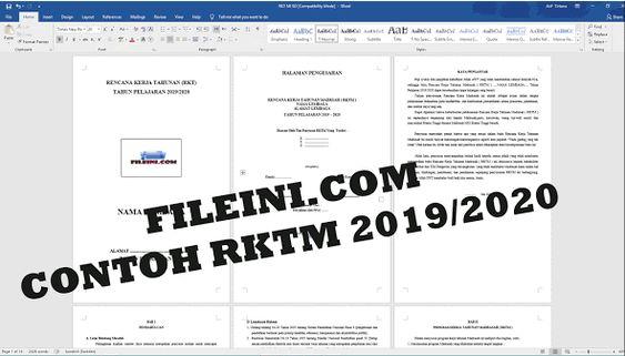 Contoh Rencana Kerja Tahunan Madrasah File Ini Di 2020 Sekolah Website Nama
