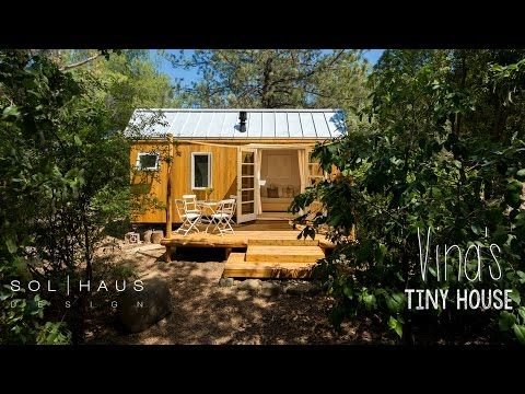 Tribute to Style and Environmental Responsibility: Vina's Tiny House in California