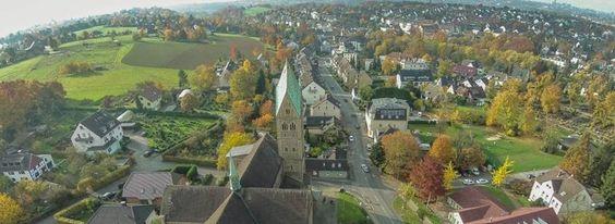 Blick von der Herz-Jesu-Kirche Richtung Oberdorf.