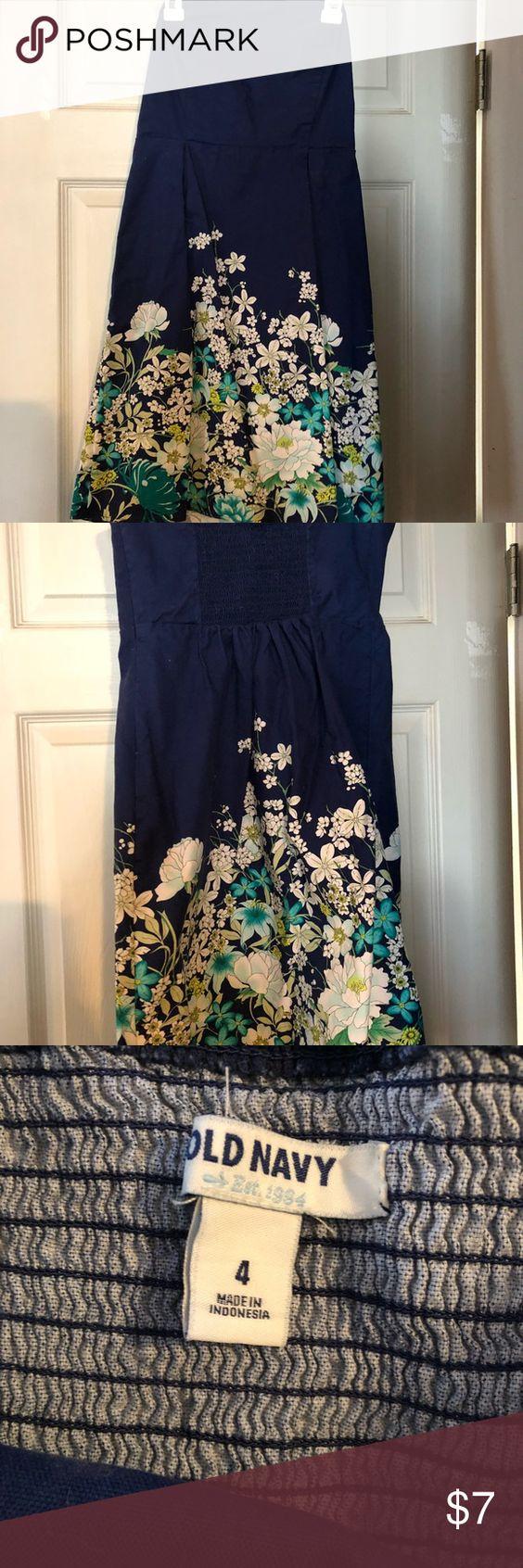 Spring Floral Old Navy Strapless Dress Floral Print Old Navy Strapless Dress Dress Is Navy Blue Dre Strapless Floral Dress Floral Print Dress Strapless Dress [ 1692 x 564 Pixel ]