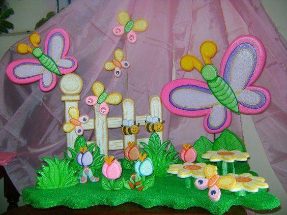 Chupetera de fantasia chupetera de anime de flores y - Mariposas decoracion pared ...