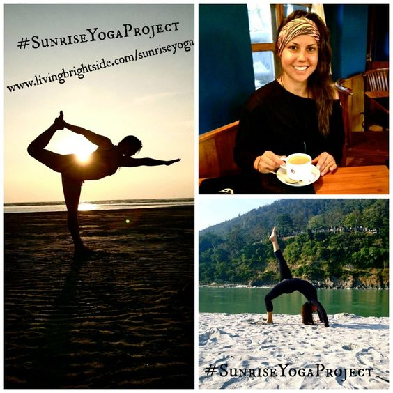 Emily is teaching the #SunriseYogaProject while we are away in California - Join her to feel good and have great days!! Online, LIVE, free yoga + meditation sessions from 7-7.25 am PST (or practice with the replays at your pleasure) :: bookmark/favorite this link to make it easy, peasy to do this with us, for your Self: www.livingbrightside.com/SunriseYoga