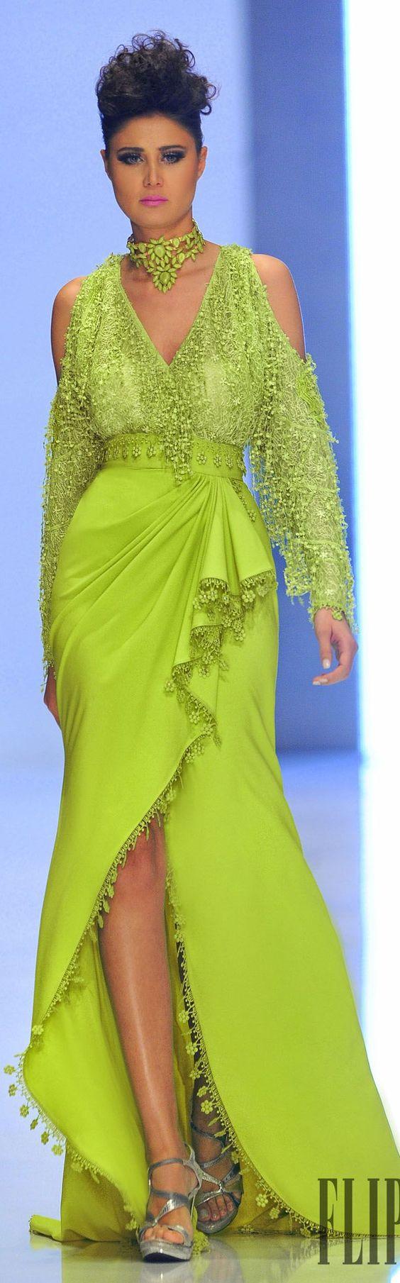 Fouad Sarkis Spring-summer 2014 Couture - #Luxurydotcom