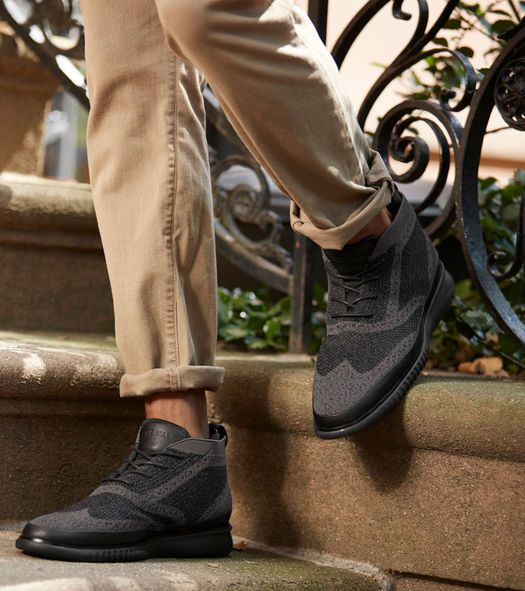 Water Resistant Chukka with Stitchlite
