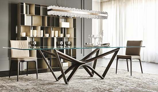 Marathon Dining Table In 2020 Contemporary Furniture Design Furniture Table