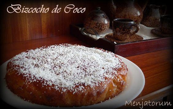 MENJATORUM               : BIZCOCHO DE COCO