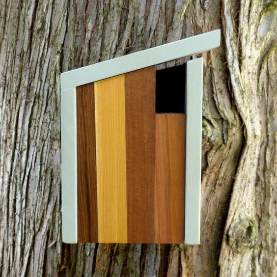 modern. minimalist. birdhouse.