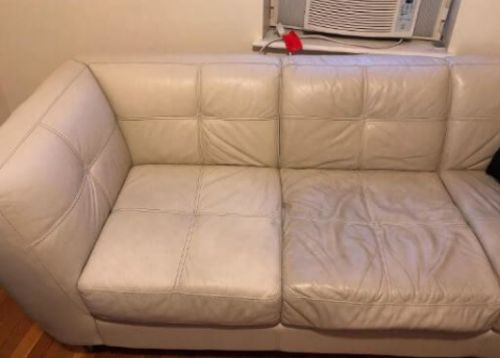 How To Clean And Restore A White Leather Couch Fantastic Cleaners