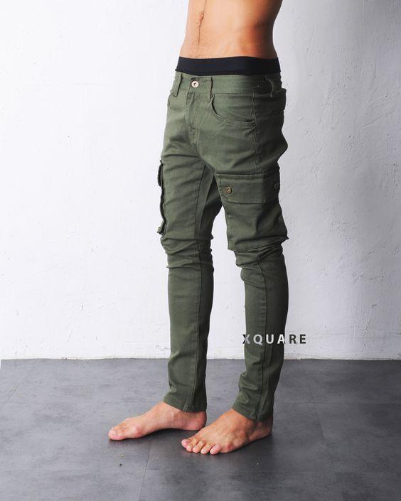 $40 Mens Vik Baggy-Skinny Cargo Pants at Fabrixquare | Pants