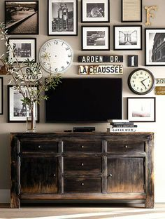 how to decorate wall behind tv - Google Search