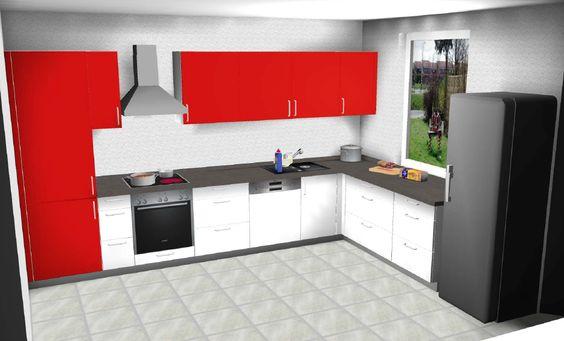 Küchendesign in #3D #Küchenstudio Noack #Lehrte #Alfeld #Northeim - nischenplatten für küchen