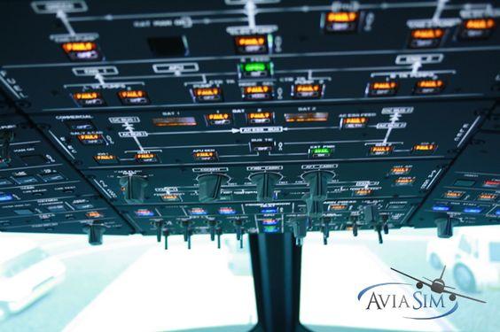 AviaSim : simulateur d'Airbus A320 à Lyon.