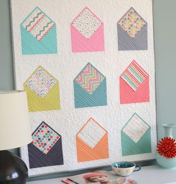 Hyacinth Quilt Designs: Envelope Quilt!: