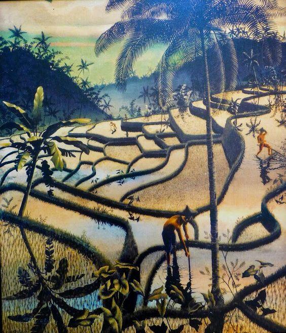 Walter Spies - Balinese Sawas
