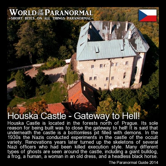 Paranormal czech republic and castles on pinterest for Paranormal activities in the world