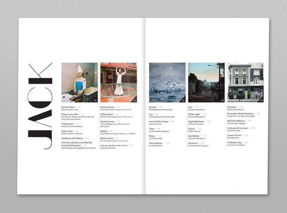 Jack - Fashion, Art & Culture Magazine on Behance
