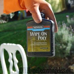 Be sure to seal painted furniture. Check out wipe-on poly. We use the Minwax brand