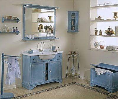 Diseño de baños ideales para una segunda casa de campo o piso ...