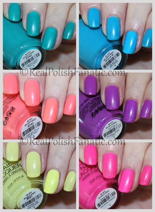 Opi Neon Collection Summer 2019 Swatch And Review Neon Nail