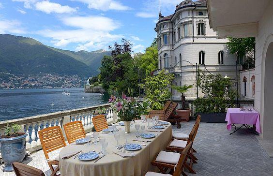 Villa Maria Serena looks Villa Usuelli | Blevio #lakecomoville: