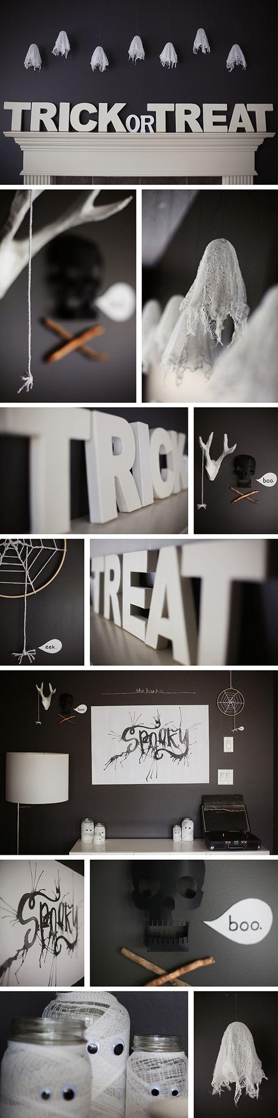 Halloween door decorations mummy downloader - Pinksugarland Halloween 2014 1