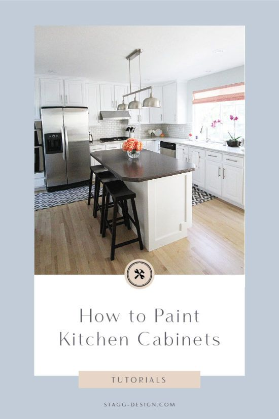 How To Paint Kitchen Cabinets Tutorial Video Stagg Design Painting Kitchen Cabinets Kitchen Paint Kitchen Cabinets