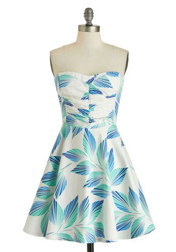 Plant Hardly Wait Dress in Palms, #ModCloth
