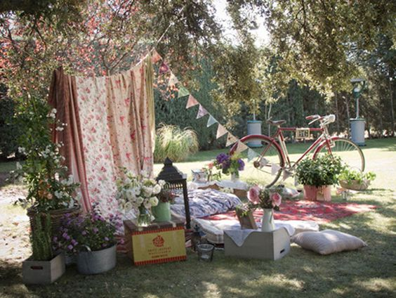 Ideas para decorar el rincon chill out en tu boda boda - Decoracion chill out ...