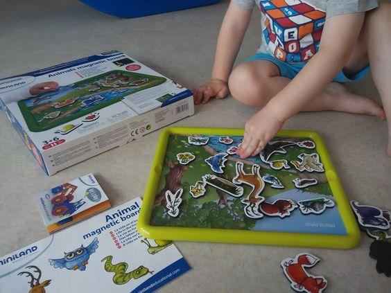 Tenemos las mejores marcas de juguetes para vuestr@s peques... Hoy este peque se lleva para su casa Animal magnetic board, le encantan los animales y pintar... Qué mejor manera que Miniland para estimular su curiosidad!!!