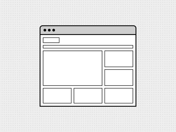 WireMagic Browser Wireframe Icon