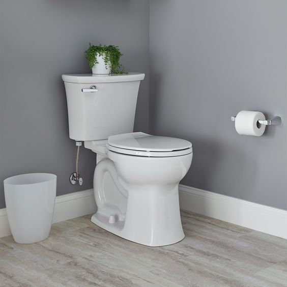American Standard Edgemere Round Front Right Height Toilet With Seat In White Also Available In Elongated Too Edgemere Round Chair Chair Height