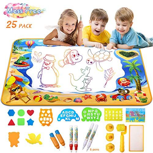 Doodle Mat Water Doodle Mat For Toddlers Aquadoodle Water Https Www Amazon Com Dp B07 Educational Toys For Kids Toddler Toys Educational Toys For Toddlers