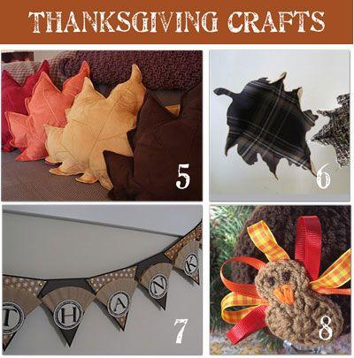 20 Thanksgiving crafts