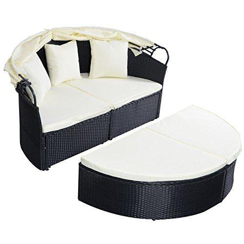 See Wicker Rattan Outdoor Patio Sofa, Rattan Patio Furniture