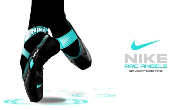 NIKE ARC ANGELS (Pointe shoe training) by Guercy Eugene, via Behance ballet